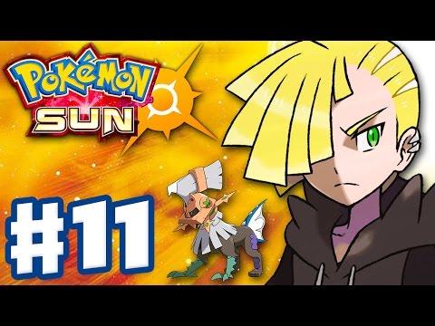 Pokemon Sun and Moon - Gameplay Walkthrough Part 11 - Gladion! Type: Null! (Nintendo 3DS)