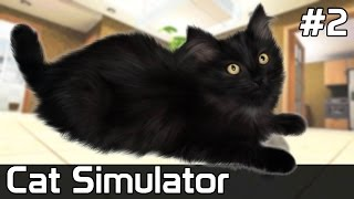 Cat Simulator Po Polsku [#2] Gra z PRAWDZIWYM Kotem