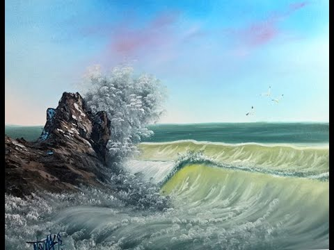 Seascape painting - Painting With Magic season 4 ep 4 ( OCEAN BREEZE )