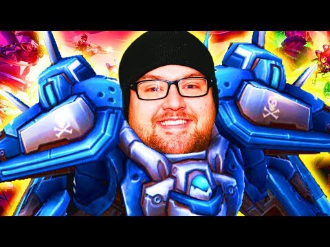Squadron Live! MFPallytime's Force Wall Fun | Heroes of the Storm