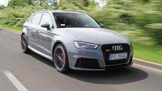 Audi RS3 - Najszybszy kompakt klasy premium!