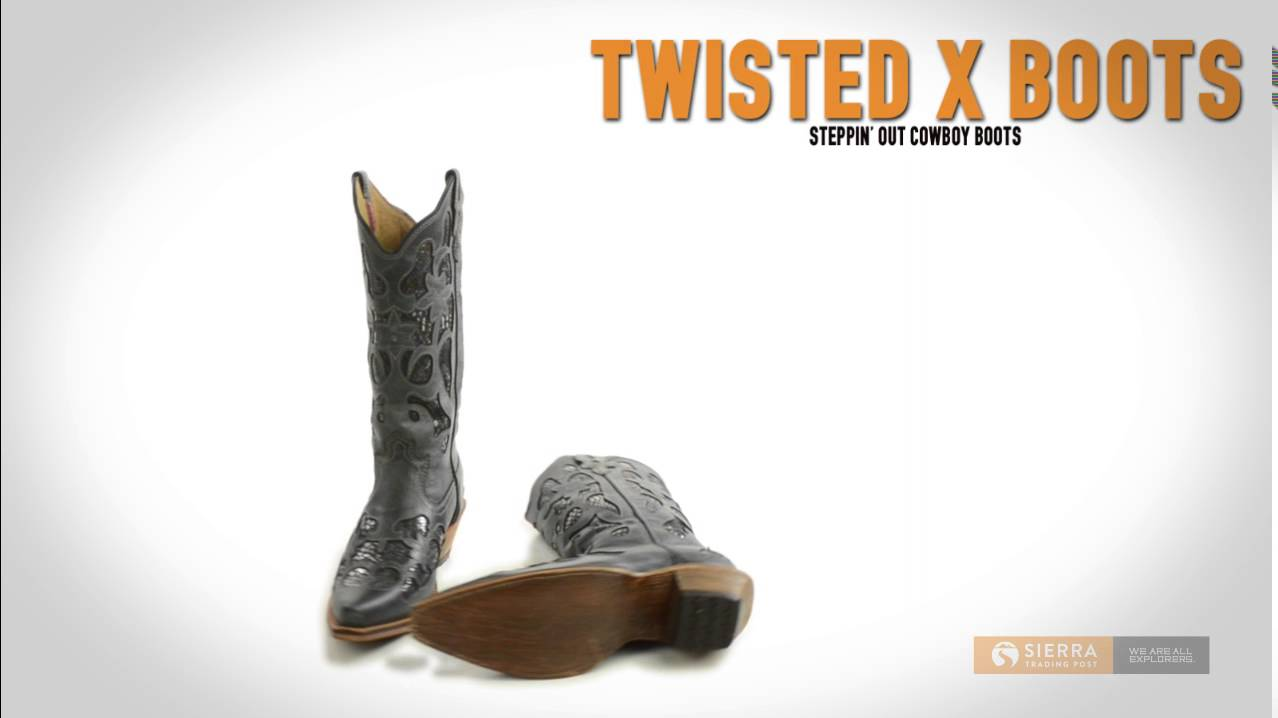 3e57c5b9ee0 Twisted X Boots Steppin' Out Cowboy Boots - Python Print Inlay, Snip Toe  (For Women)
