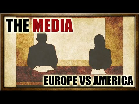 In Time: The Media, Europe vs the Americas