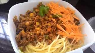 Broad Bean Sauce Meat / Pork Noodle 杂酱面