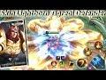 Tigreal No Cooldown Skills Skin Lightborn Defender - Mobile Legends