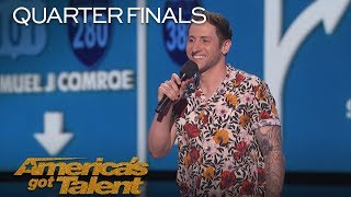 Скачать Samuel J Comroe Comedian Tells Hilarious Puppy Adoption Story America S Got Talent 2018
