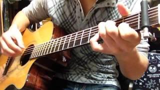 やなぎなぎさんのビードロ模様をソロギターにアレンジしました。
