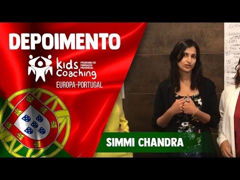 Kids Coaching Presencial Lisboa/Portugal - Depoimento de Simmi Chandra.