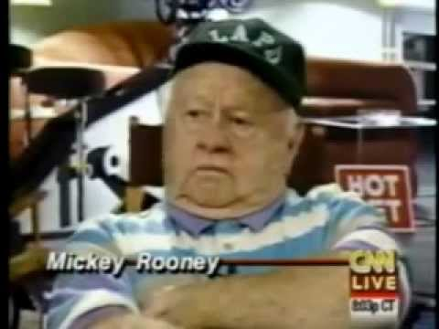 Marilyn Monroe - And Loads Of Laughs With Mickey Rooney(This Is Real)