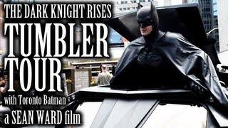 The Dark Knight Rises - Tumbler Tour