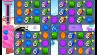 Candy Crush Saga Level 615 using No Boosters.