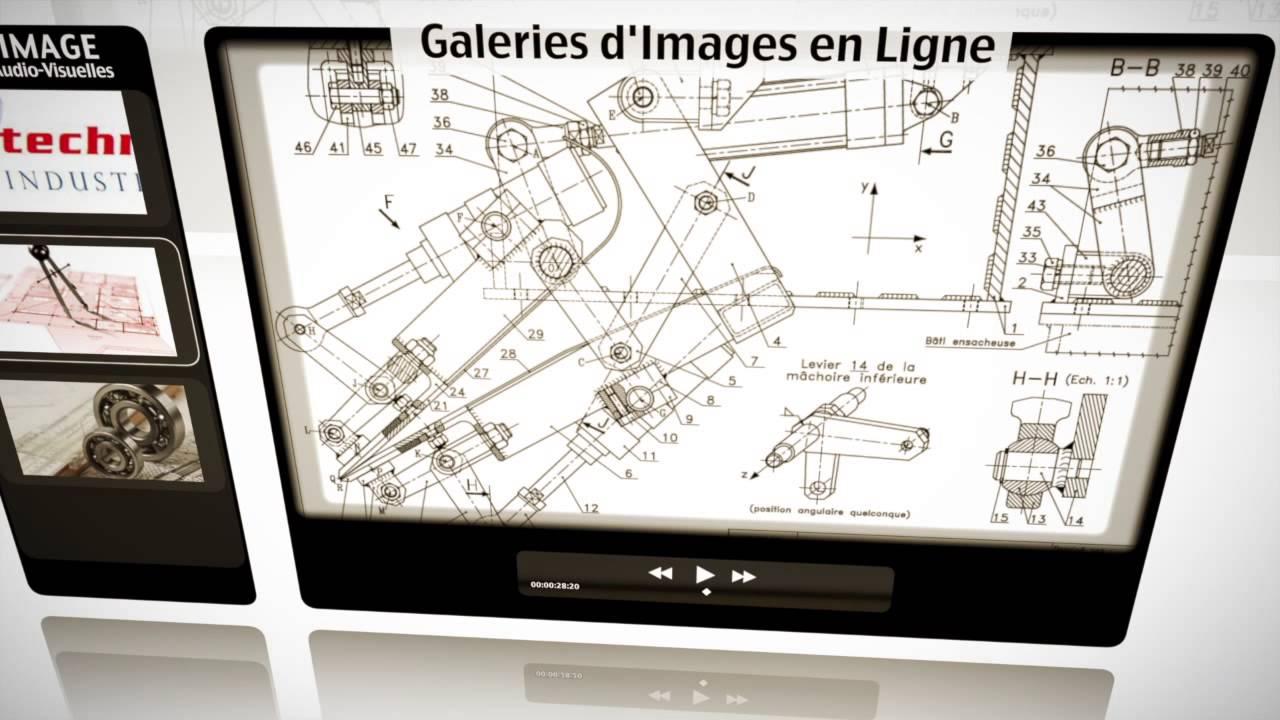 Parle Image - Exemple d'animation à Partir d'images fixes, de Photographies et de vidéos, sur le thème de l'industrie. 59016