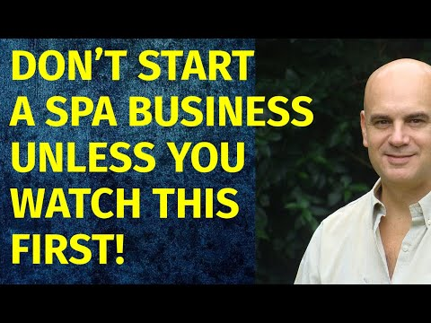 How To Start A Spa Business | Including Free Spa Business Plan Template