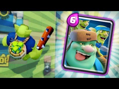 NEW 6 ELIXIR GOBLIN GIANT EPIC CARD!! GOING TO BE OP!? | Clash Royale | ALL NEW CARD INFO!