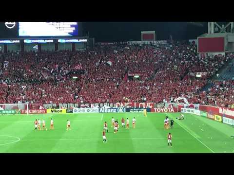 【ACL暴力行為】試合終了後、韓国人選手?スタッフ?が浦和選手らにペットボトルを投げつける