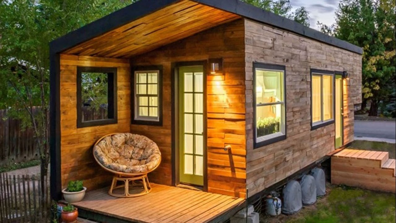 The Most Incredible Tiny Houses You Ll Ever See Youtube