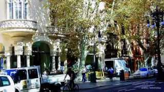 Mallorca Tourist Video with Google Street Map  Part 10  Palma de Mallorca
