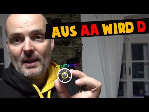 Aus AA werden D Batterien   Blackout Ausrüstung