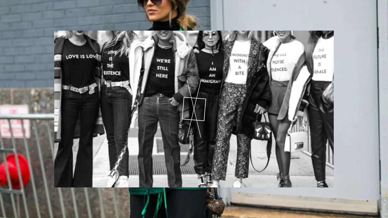 Уличная мода Нью-Йорка 2017