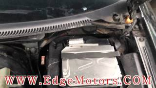 Audi A4 secondary air injection system diagnosis and repair DIY by Edge Motors
