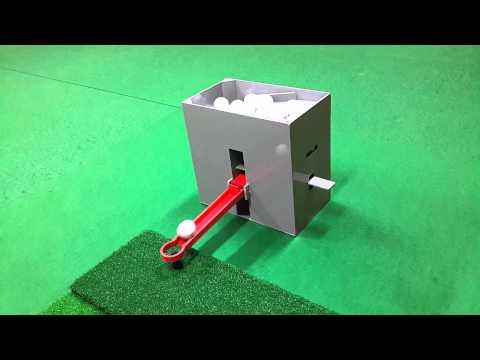 No Power Semi Automatic Golf Ball Dispenser, G-M CADDY