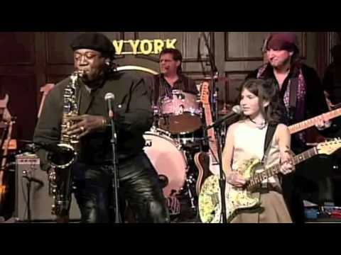 Clarence Clemons And Raechel Rosen Perform