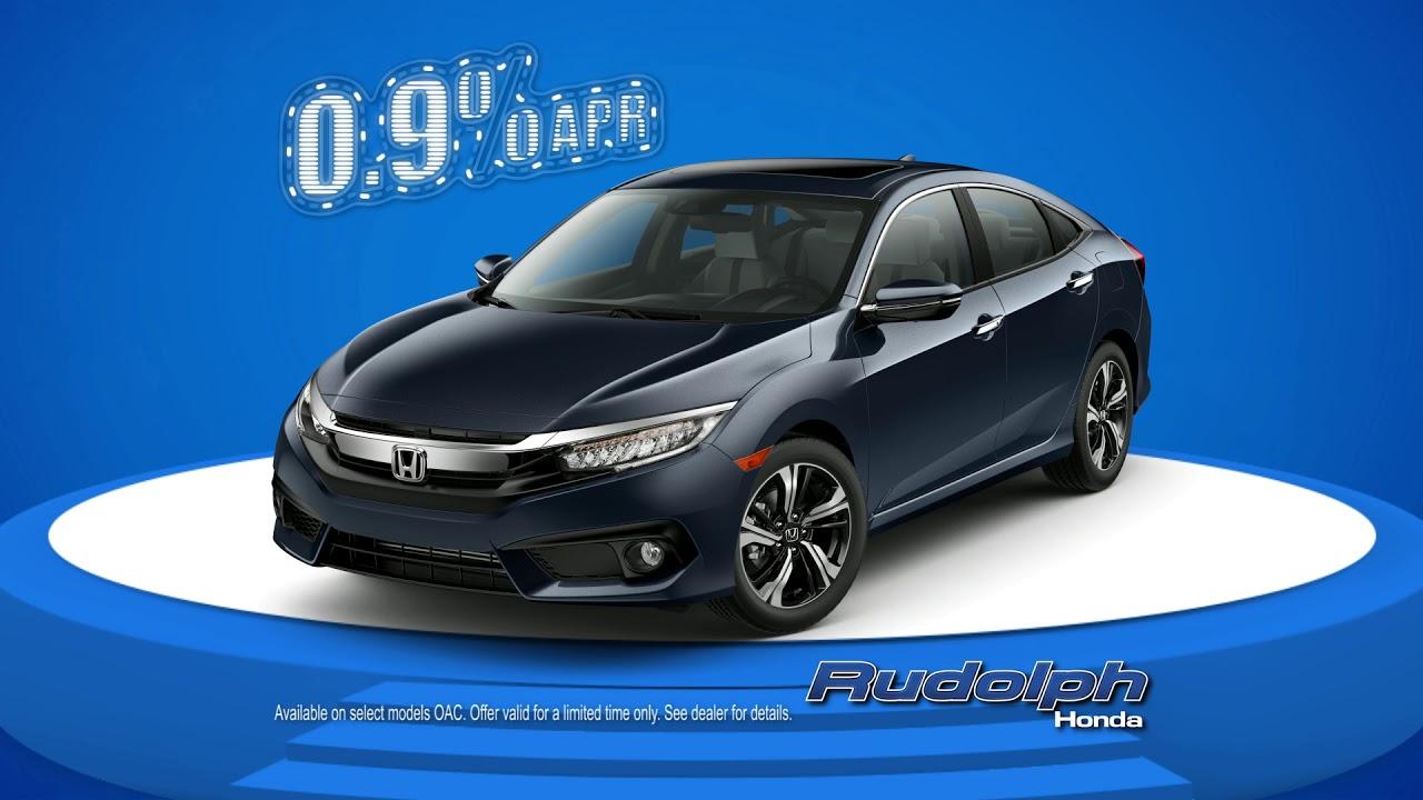 Great Rudolph Honda Dealership In El Paso   0.9% Financing On Select Honda Models.