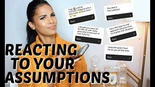 Reading Your Assumptions About Me | The Truth