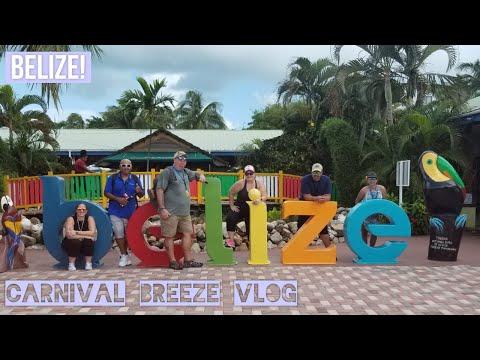 Carnival Breeze Vlog - Belize | Exploring the Belize Port