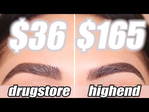 DRUGSTORE BROW DUPES - Tested & Approved   Roxette Arisa Drugstore Series