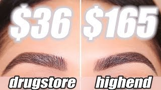 DRUGSTORE BROW DUPES - Tested & Approved | Roxette Arisa Welcome ba...