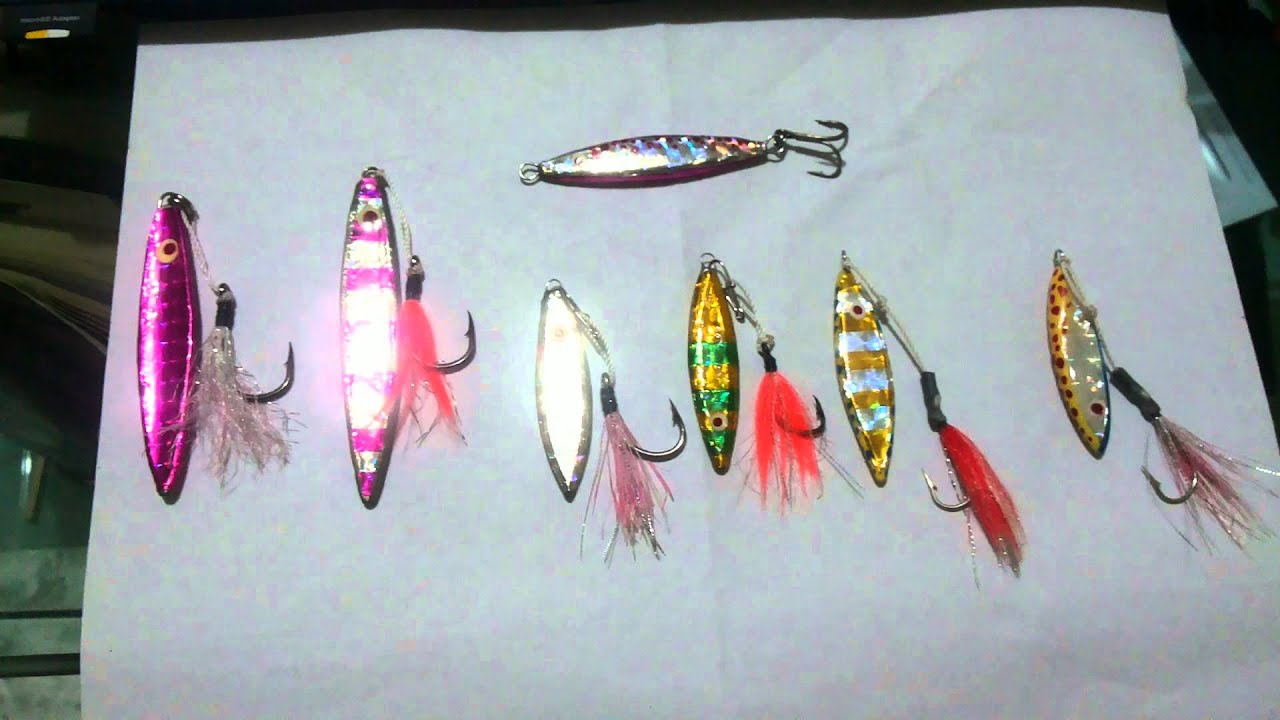 Home made micro jig lures youtube home made micro jig lures solutioingenieria Images