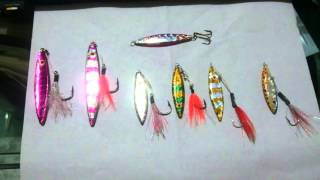 Home made Micro jig lures