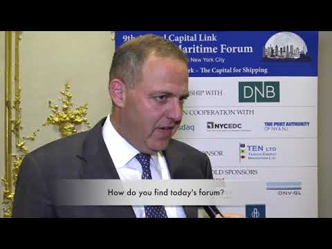 2017 9th Annual New York Maritime Forum - Mr. Ted Young Interview