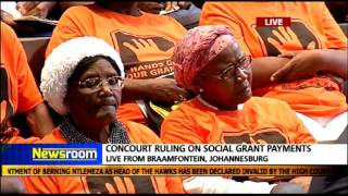 Court orders Sassa, CPS to continue with grant payments