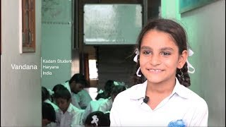 Vandana's story (The Kadam Step-Up Programme, supported by Dell Giving)