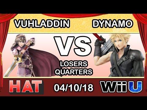 HAT 17 - Vuhladdin (Lucina) Vs. iNX | Dynamo (Cloud/Meta Knight) Losers Quarters - Smash 4