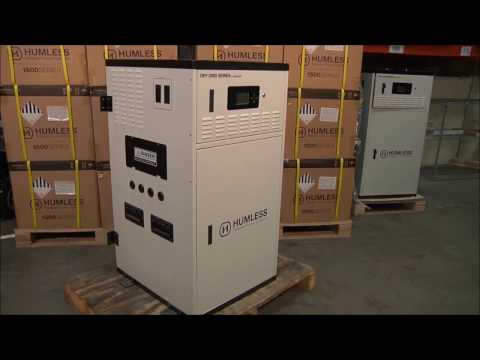 Humless Off-Grid Series 4.8 kWh Solar Generator Overview