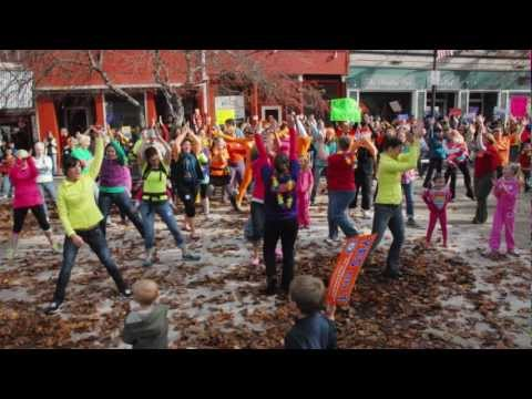 YES on 1 Flash Mob - Bangor, Maine