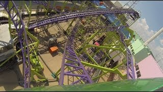 Windstorm Roller Coaster POV State Fair of Texas 2013