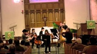 Handel: Concerto Grosso Op. 6 No.1.  A tempo giusto; Allegro; Adagio; Allegro