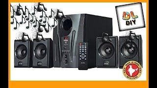 Intex it 2655 Digi Plus Sound test and unboxing (Hindi)