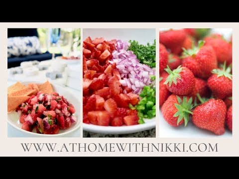blend   chill strawberry salsa