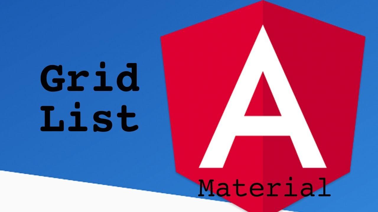 Angular Material Grid