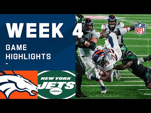 Broncos vs. Jets Week 4 Highlights | NFL 2020