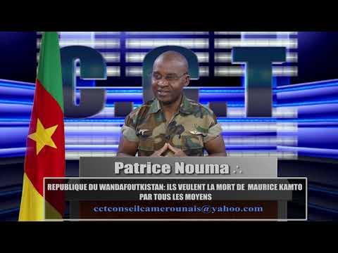 REPUBLIQUE DU WANDAFOUTKISTAN;  ILS VEULENT LA MORT DE  MAURICE KAMTO PAR TOUS LES MOYENS