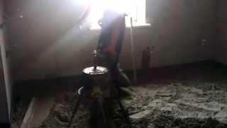 Стяжка пола цементно-песчаная машинная полусухая плавающая. http://www.rokos-kiev.com 067 4421101(, 2013-07-19T15:54:28.000Z)