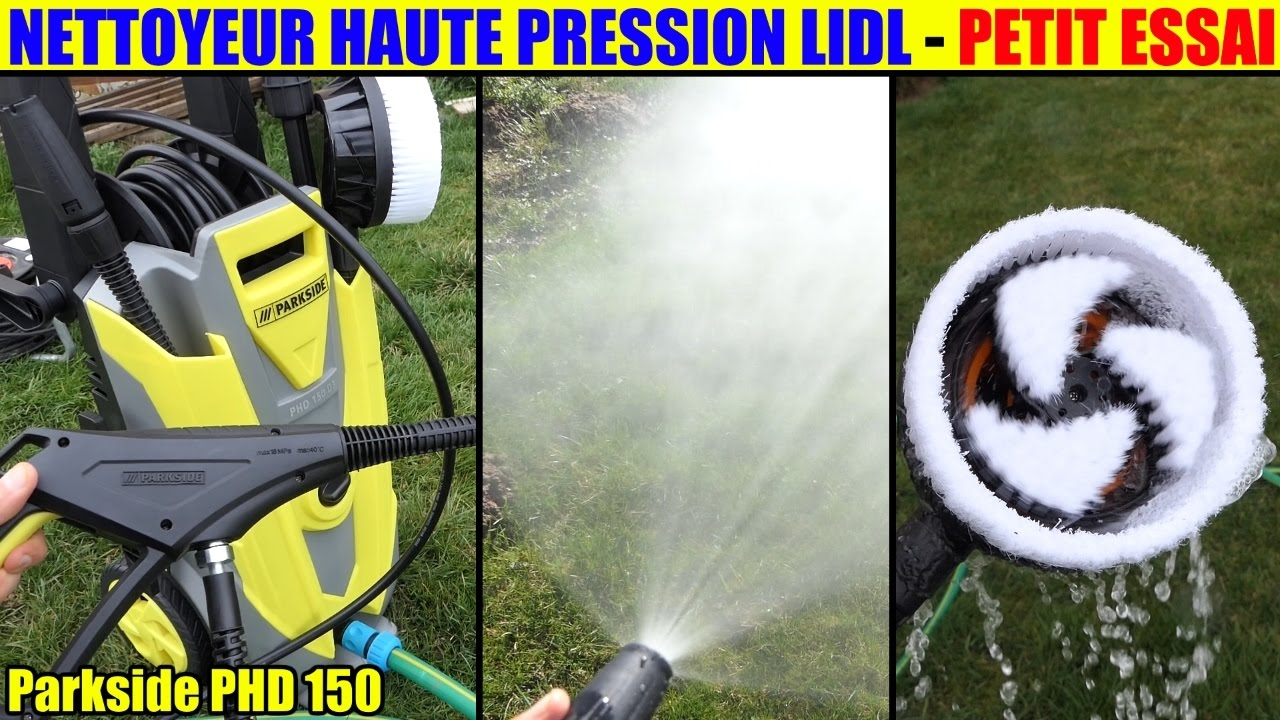 Nettoyeur haute pression lidl parkside phd 150 essai for Idropulitrice parkside phd 150 opinioni
