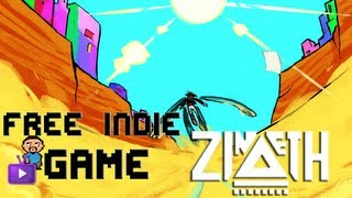 Free Indie Game - Zineth - A Stylish Exploration Skating Platform Game
