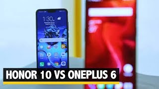 Partner I Honor 10 Vs OnePlus 6
